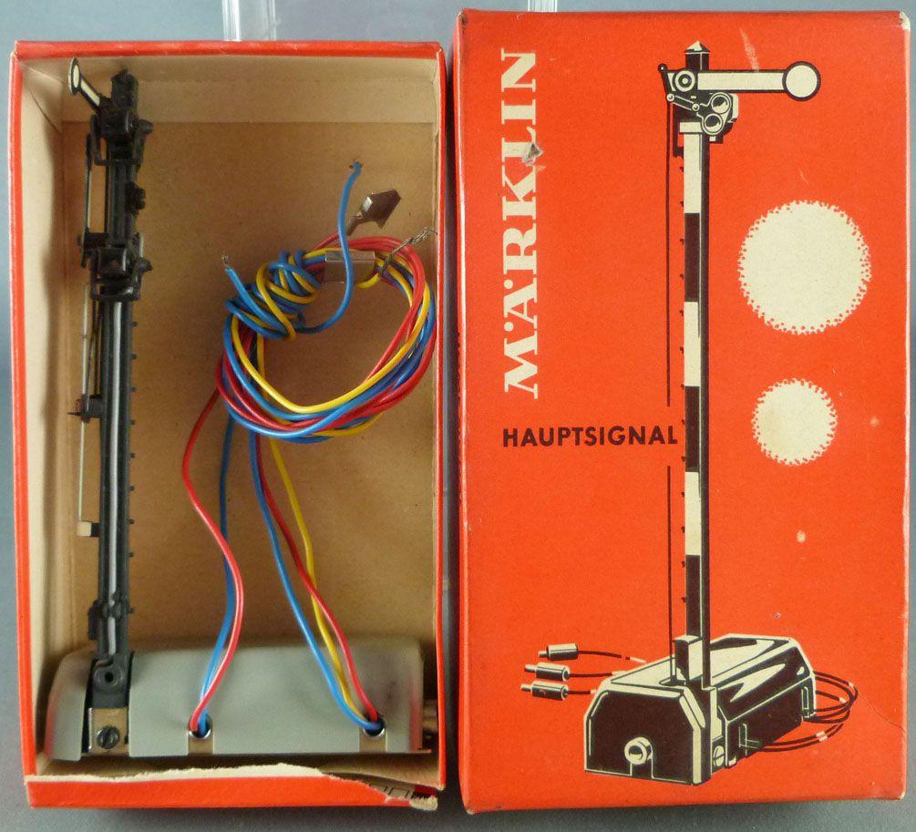 Märklin 7040 Ho Semaphore Electric Principal Signal Mint in Box