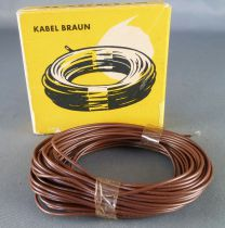 Märklin 7102 Ho 10 Meters Brown Wire Mint in box