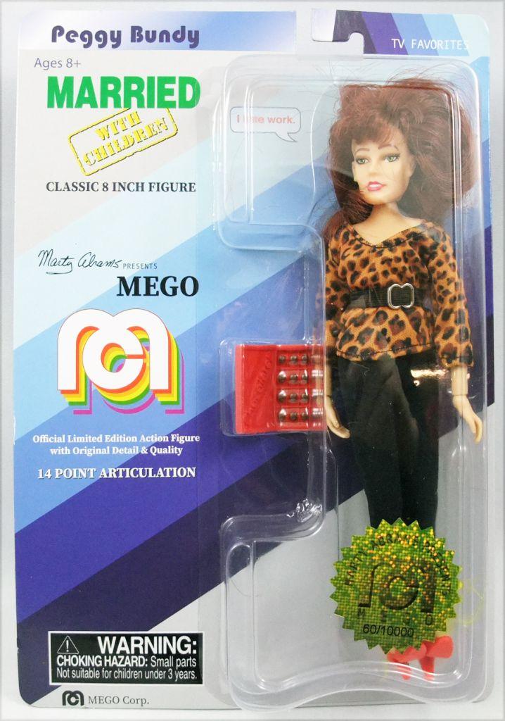 "Married with children - Peggy, Al & Kelly Bundy - Mego 8\"" dolls"