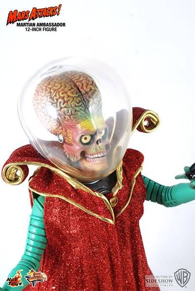 Mars Attacks! - Hot Toys - 12 inches Martian Ambassador