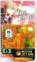 Mars Attacks! - Trendmasters - Talking Martian Spy Girl