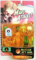 Mars Attacks! - Trendmasters - Talking Martian Spy Girl
