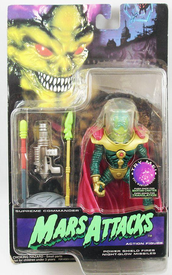 Mars Attacks! - Trendmasters (Trading cards) - Supreme Commander