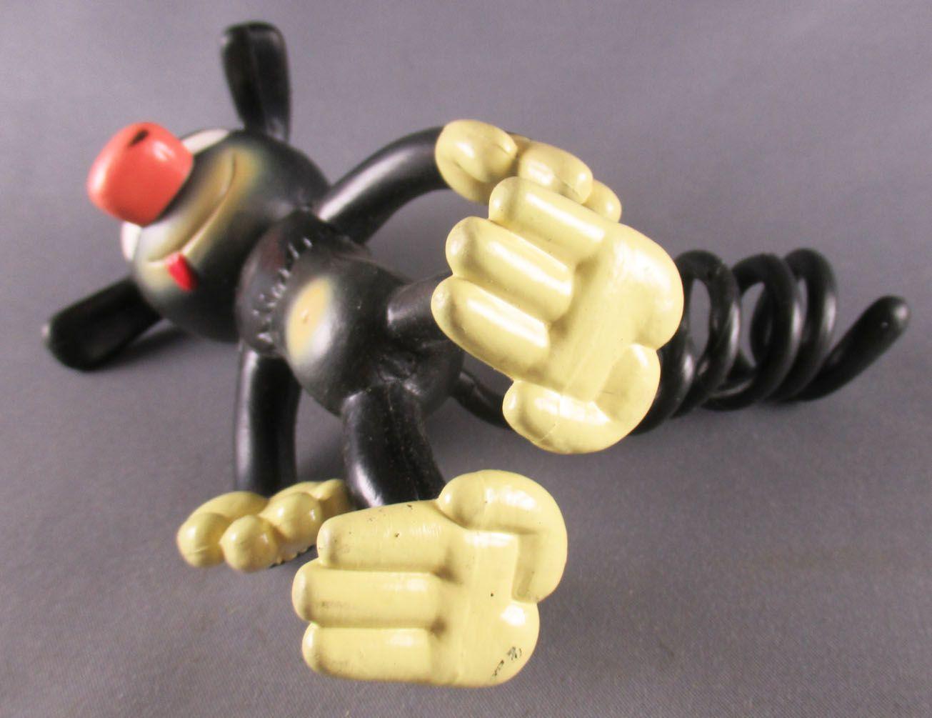 Marsupilami - Figurine Flexible Muhleck Nounours - Marsupilami Noir 14cm