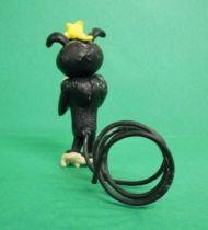 Marsupilami - Figurine PVC Plastoy - Femelle Marsupilami noire