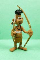 Marsupilami - Figurine PVC Plastoy - Indien Chahutas (avec arc)