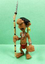 Marsupilami - Figurine PVC Plastoy - Indien Chahutas (avec lance)