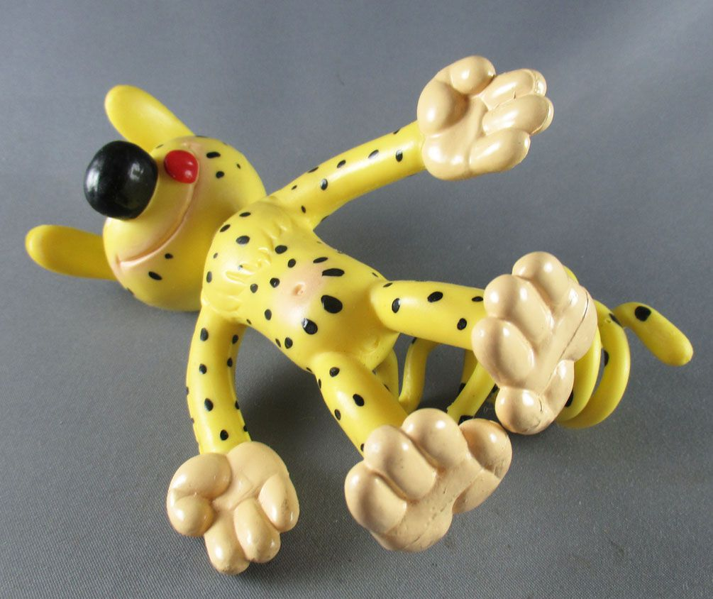 "Marsupilami - Muhleck Nounours Bendable Figure - Marsupilami 14cm 7\"""
