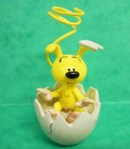 Marsupilami - Plastoy PVC Figure - Marsupilami baby in his egg