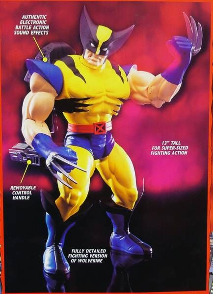 Marvel Big Time Action Hero - Wolverine