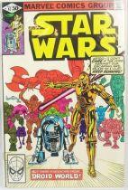 Marvel Comics Group - Star Wars n°47  Droid World!