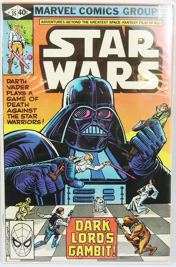 Marvel Comics Group - Star Wars n°35  Dark Lord\'s Gambit!