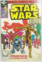 Marvel Comics Group - Star Wars n°47  Droid World!