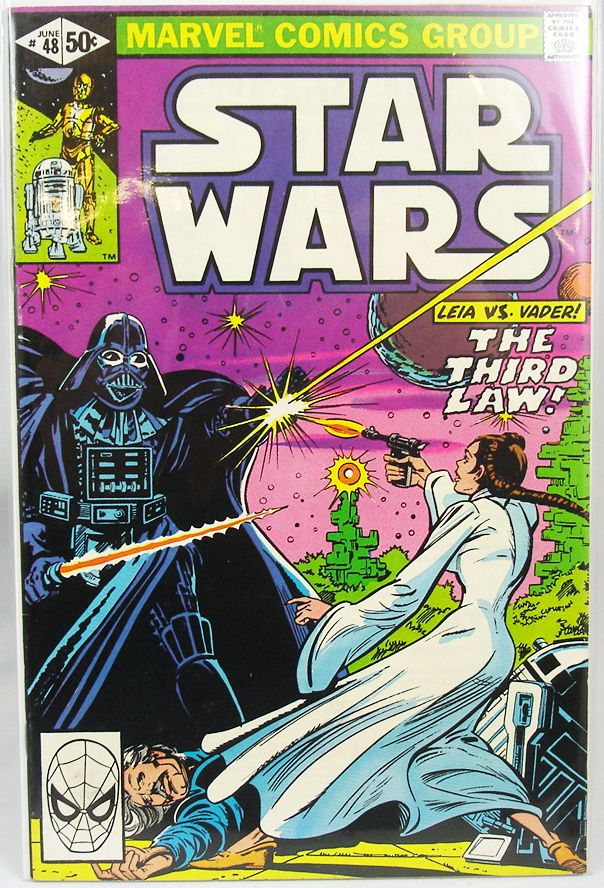 Marvel Comics Group - Star Wars n°48  The Third Law!