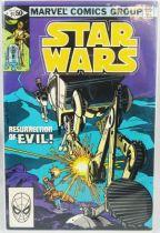 Marvel Comics Group - Star Wars n°51  Resurrection of Evil!