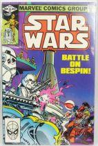 Marvel Comics Group - Star Wars n°57  Battle on Bespin!