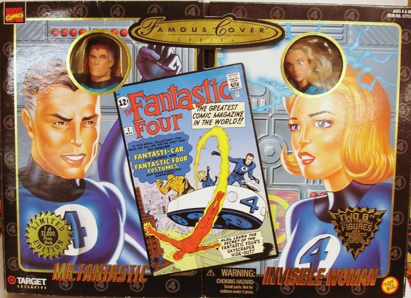 Marvel Famous Covers - Mr. Fantastic & Invisible Woman