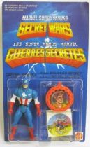 Marvel Guerres Secrètes - Captain America (carte Europe)