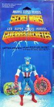 Marvel Guerres Secrètes - Captain America (loose avec cardback) - Mattel