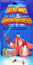 Marvel Guerres Secrètes - Falcon / Le Faucon (loose avec cardback) - Mattel