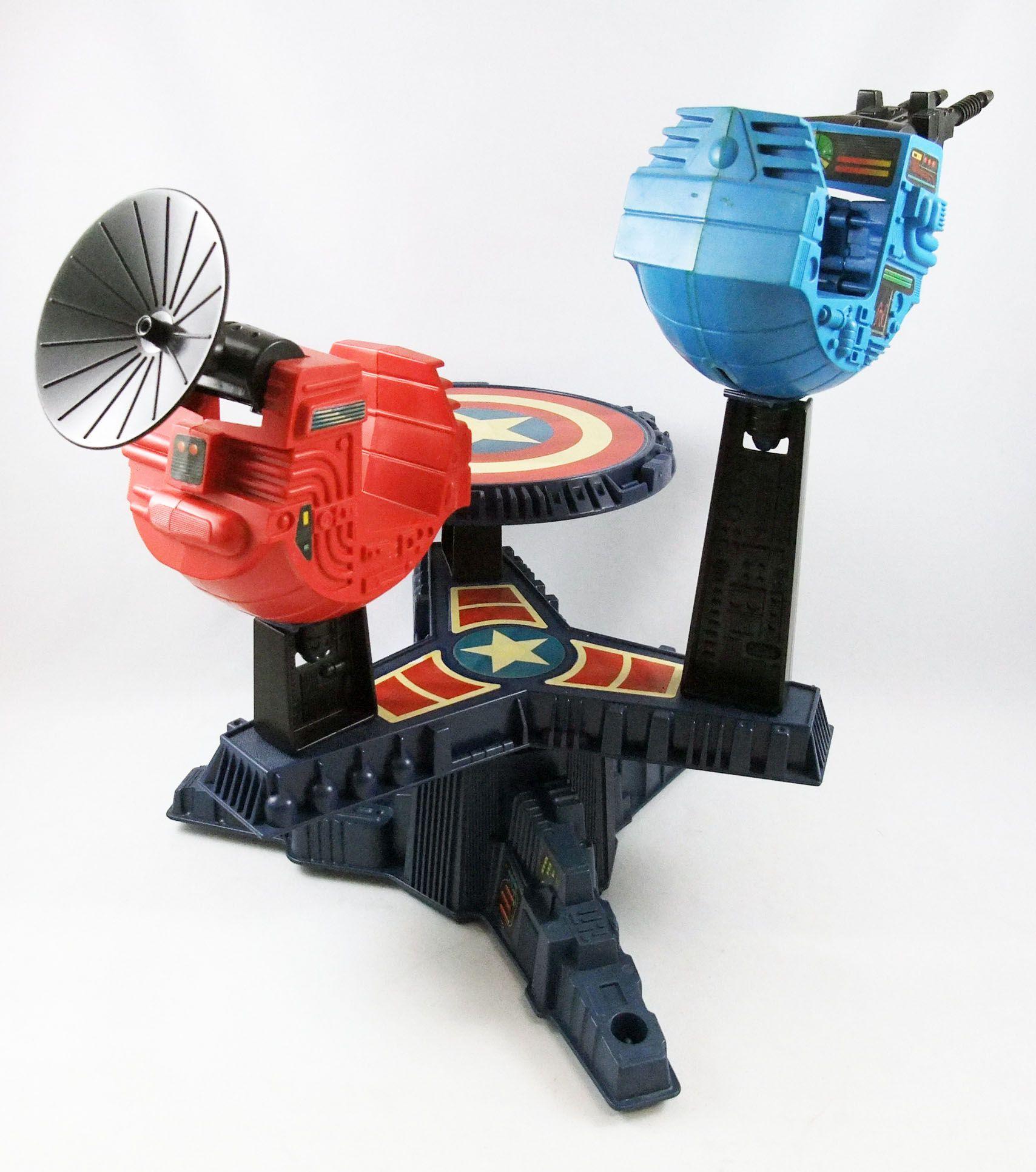 Marvel Guerres Secrètes - Freedom Fighter / Plate-forme Mobile (loose) - Mattel