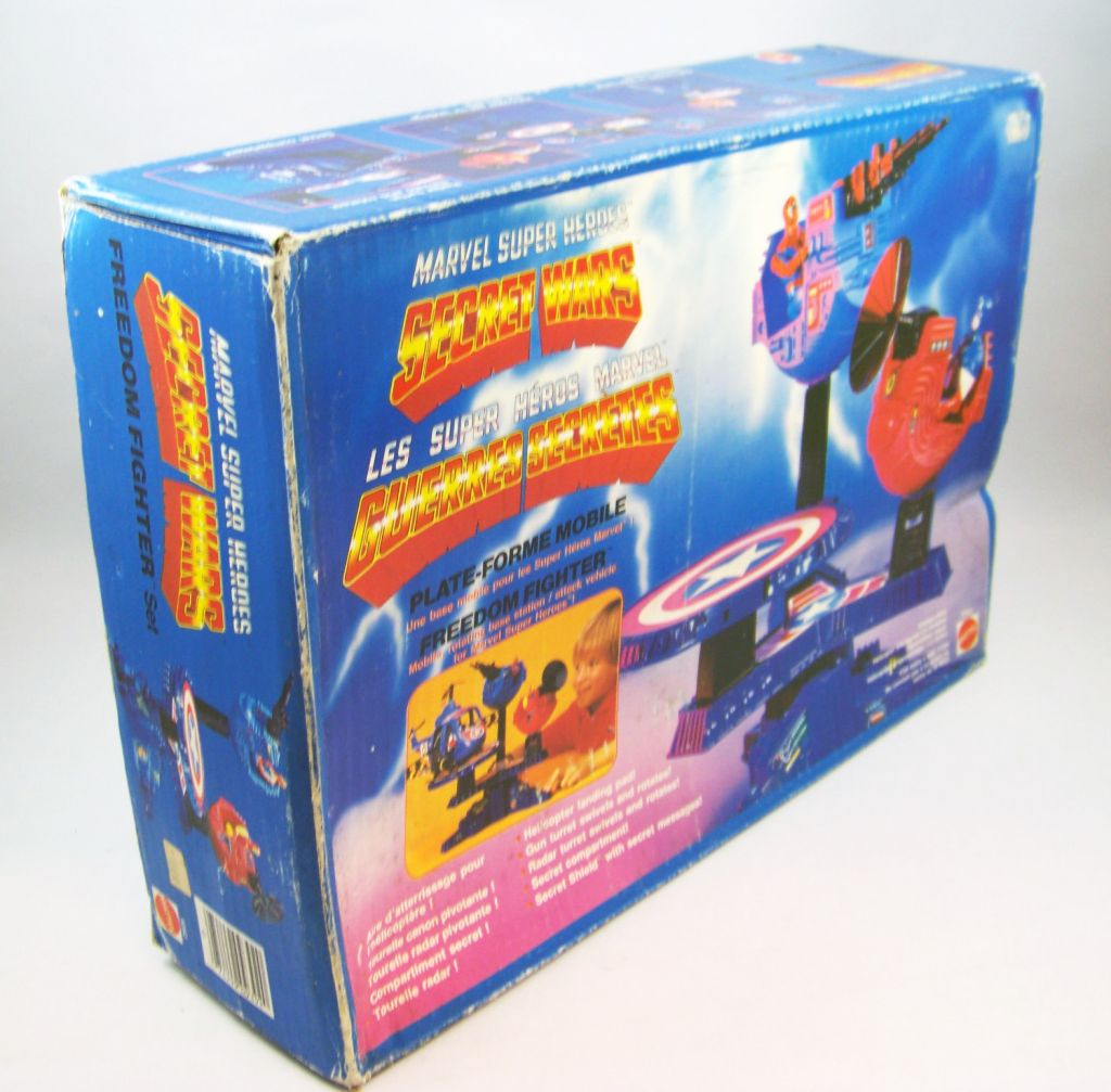 Marvel Guerres Secrètes - Freedom Fighter - Plate-forme Mobile (neuf en boite) 02