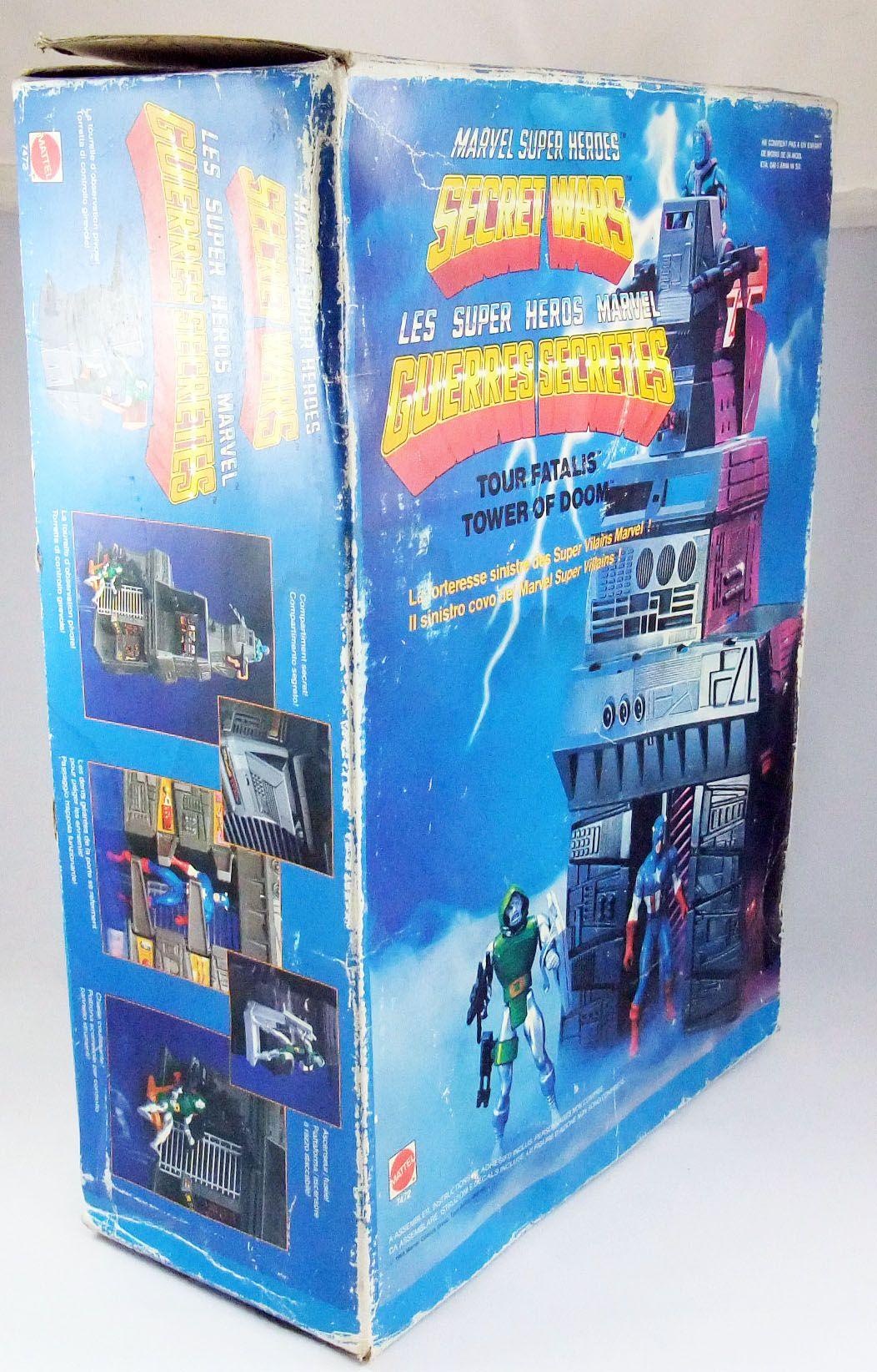 Marvel Guerres Secrètes - Tower of Doom / Tour Fatalis (neuf en boite) - Mattel