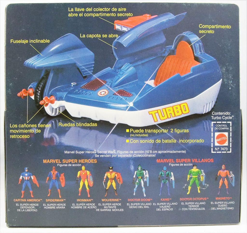Marvel Guerres Secrètes - Turbo Cycle (neuf en boite)