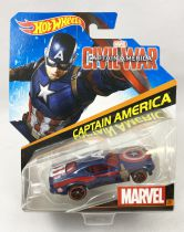 Marvel Hot Wheels - Mattel - Captain America (Civil War)