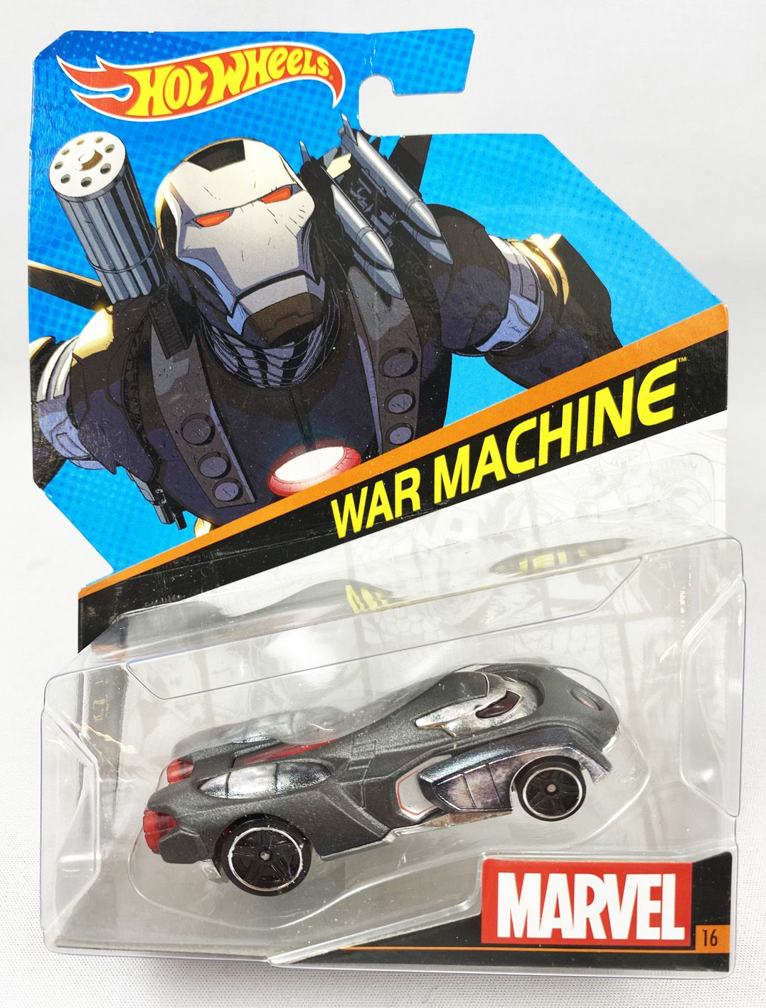 Marvel Hot Wheels - Mattel - War Machine