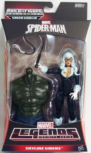 Marvel Legends - Black Cat - Serie Hasbro (Green Goblin)