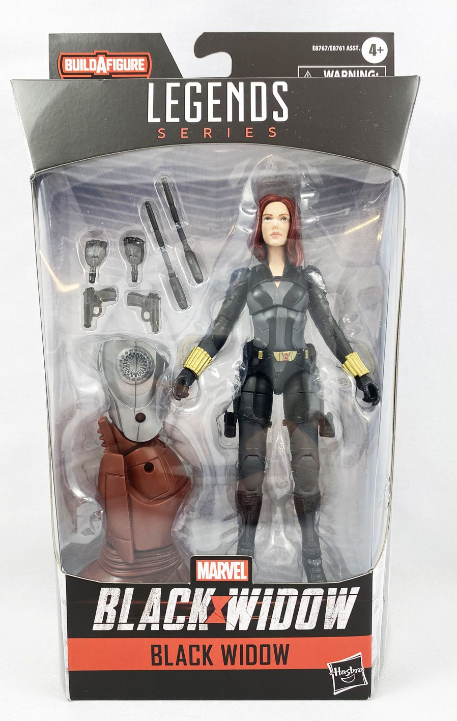 Marvel Legends - Black Widow - Serie Hasbro (Crimson Dynamo)
