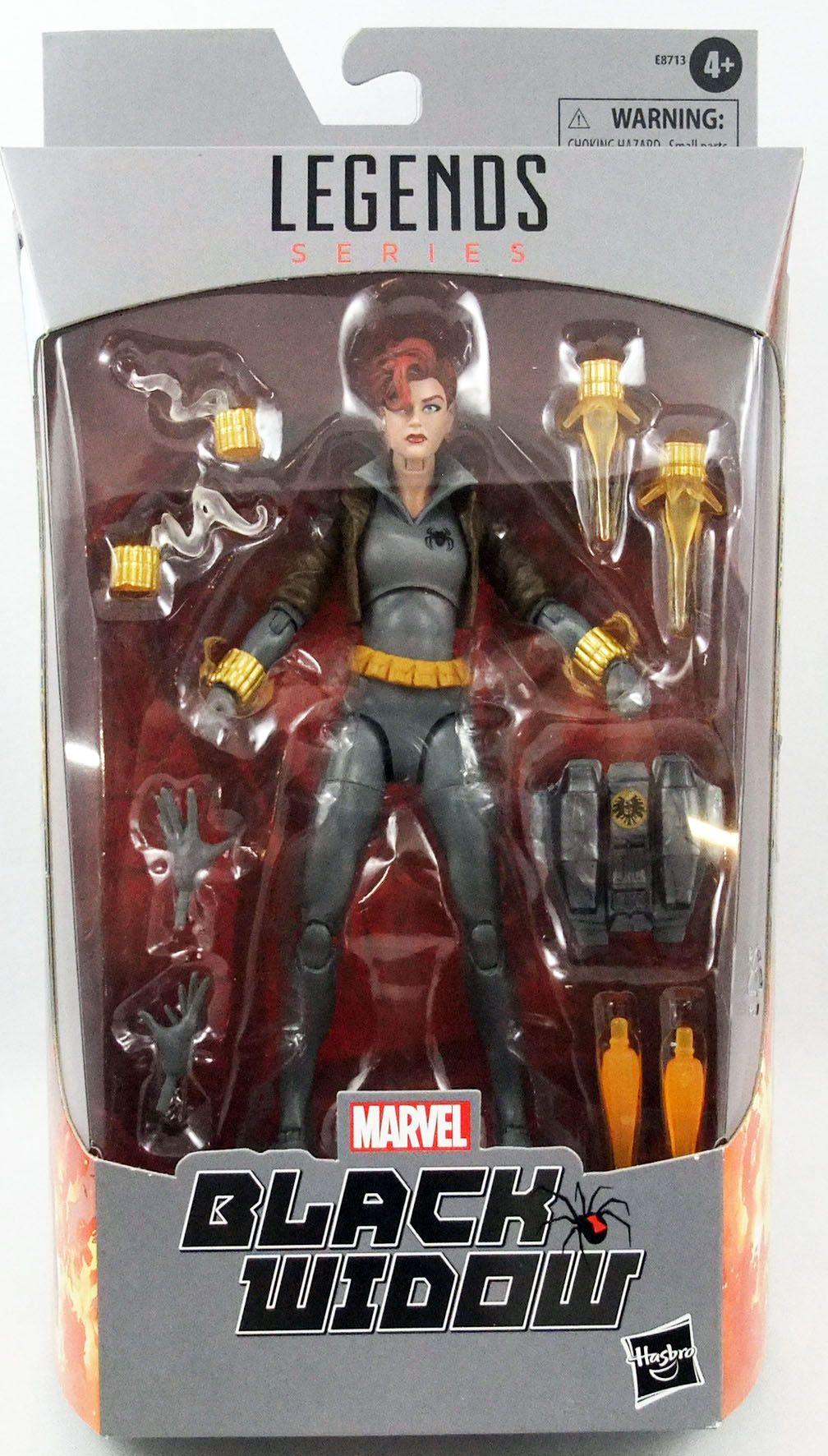 """Marvel Legends - Black Widow \""""Grey Suit\"""" - Serie Hasbro (Exclusive)"""