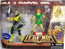 Marvel Legends - Cable & Marvel Girl - Series Hasbro