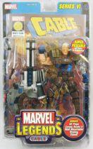 "Marvel Legends - Cable \""brown costume variant\"" - Série 6"