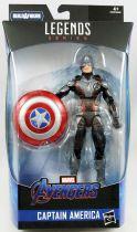Marvel Legends - Captain America - Serie Hasbro (Armored Thanos)
