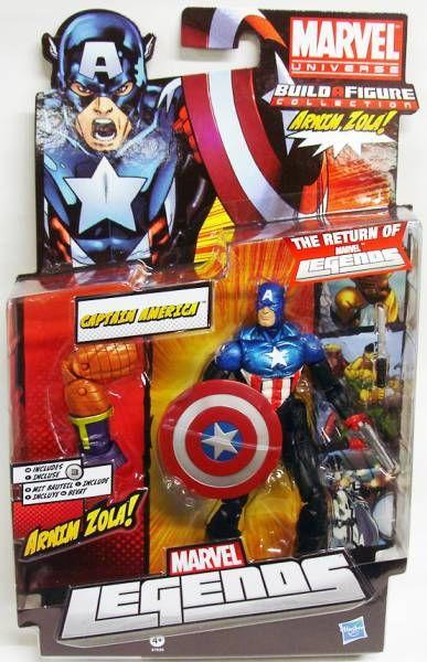 Marvel Legends - Captain America - Serie Hasbro (Arnim Zola)