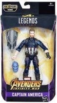 "Marvel Legends - Captain America \""Infinity War\"" - Series Hasbro (Thanos)"