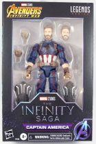 Marvel Legends - Captain America (The Infinity Saga) - Serie Hasbro