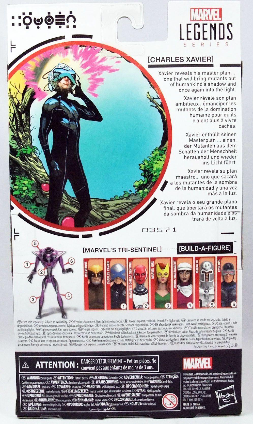 Marvel Legends - Charles Xavier - Serie Hasbro (Tri-Sentinel)