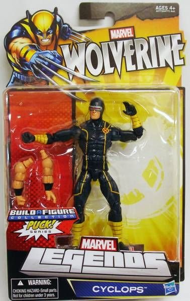 Marvel Legends - Cyclops - Serie Hasbro (Puck)
