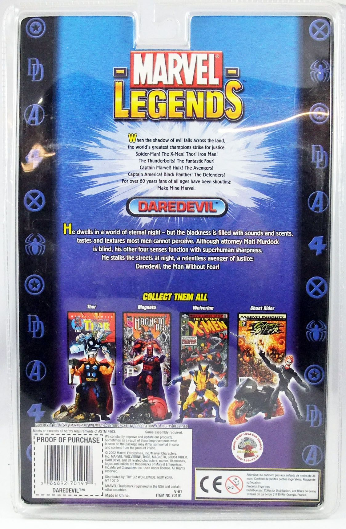 Marvel Legends - Daredevil - Série 3 - ToyBiz