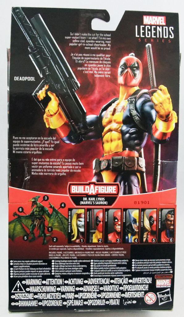 "Marvel Legends - Deadpool \""X-Men costume\"" - Series Hasbro (Sauron)"