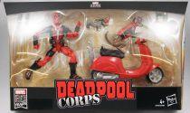 Marvel Legends - Deadpool Corps avec scooter - Serie Hasbro (Ultimate)