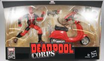 Marvel Legends - Deadpool Corps with scooter - Serie Hasbro (Ultimate)