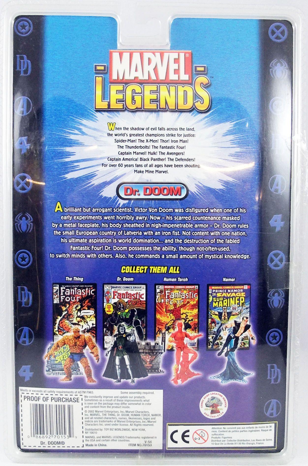 Marvel Legends - Doctor Doom - Serie 2 - ToyBiz