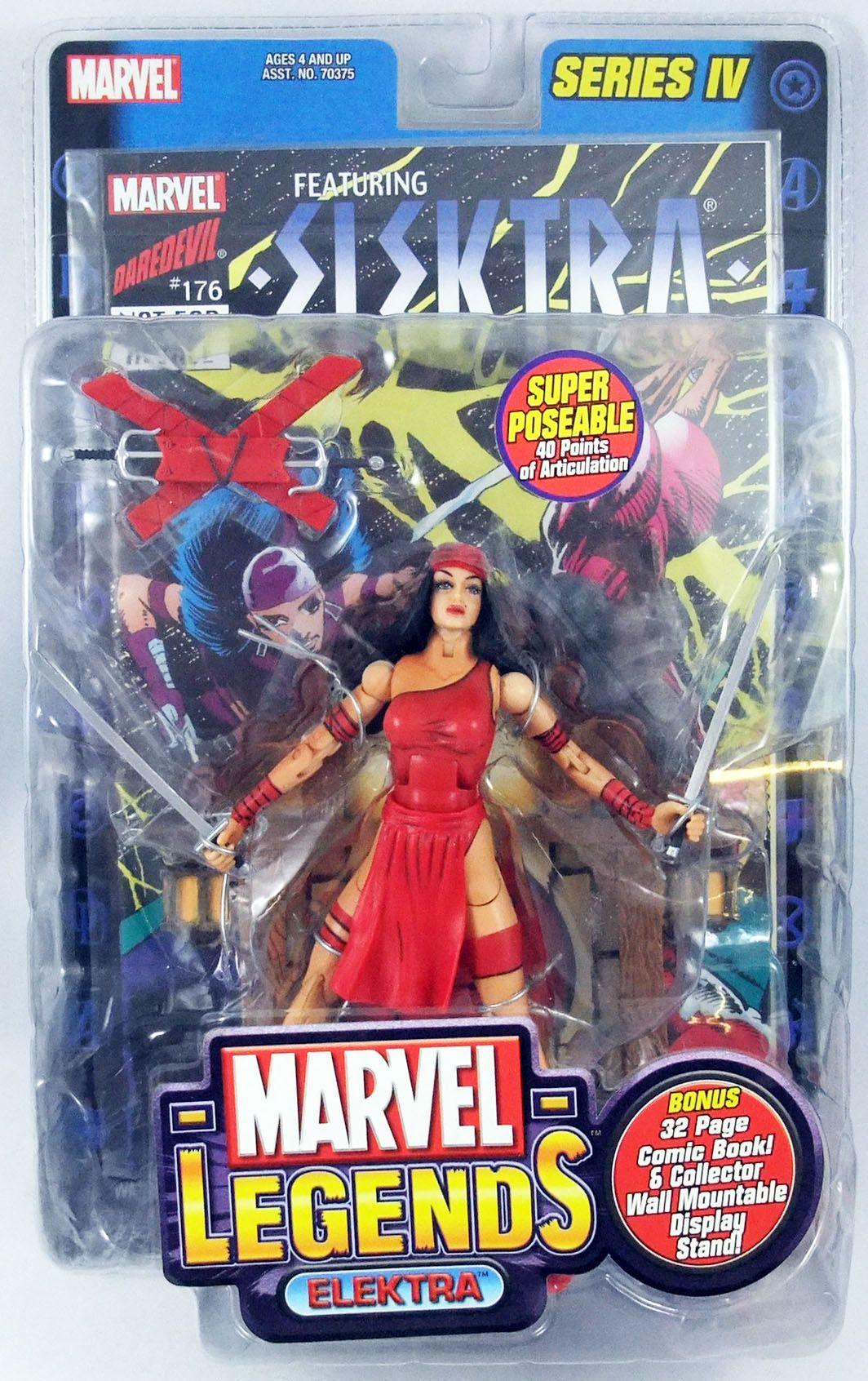 Marvel Legends - Elektra - Série 4 - ToyBiz