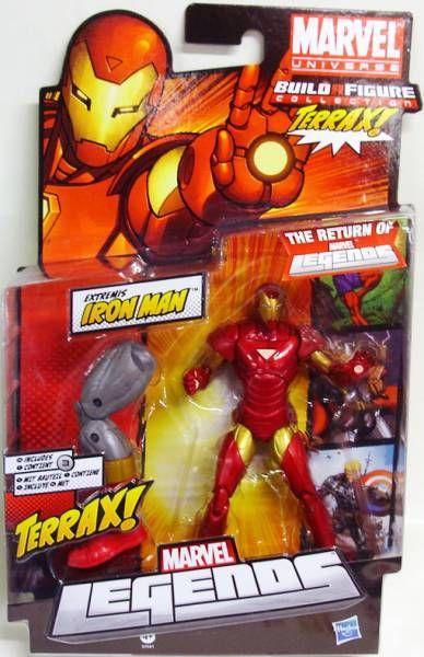 Marvel Legends - Extremis Iron Man - Serie Hasbro (Terrax)
