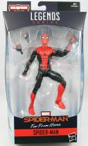 "Marvel Legends - Far From Home Spider-Man ""Hero Suit\"" - Serie Hasbro (Molten Man)"