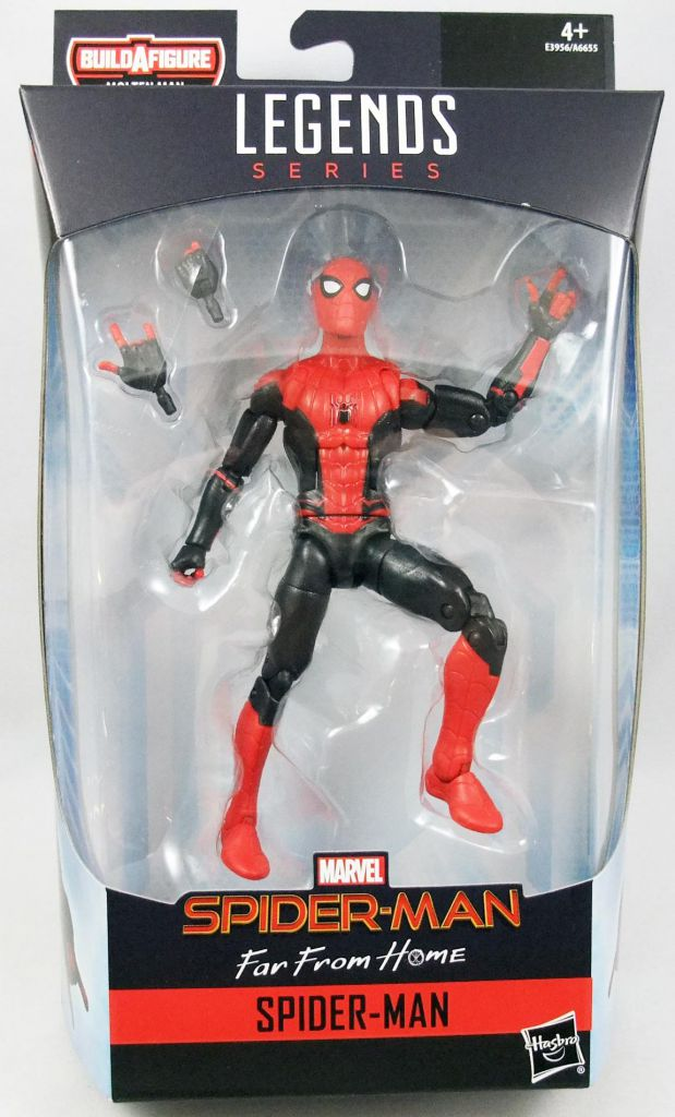 "SPIDER MAN Marvel Legends HASBRO 2019 6/"" inch SPIDER MAN Action FIGURE"
